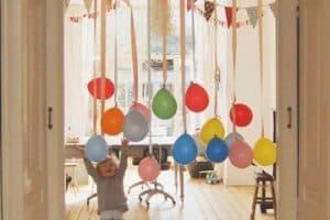 Una decoracion de cumpleaños sencilla y barata