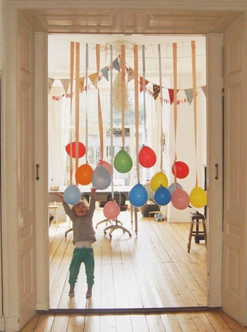decoracion de cumpleaños sencilla en casa