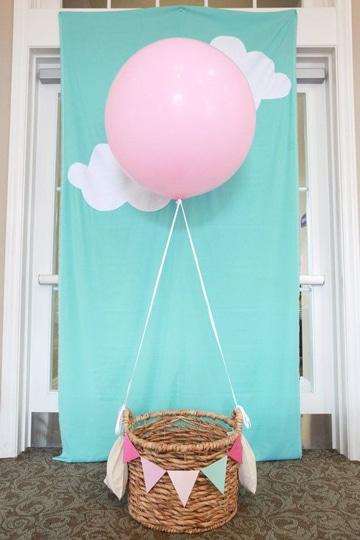 decoracion de cumpleaños sencilla para niña