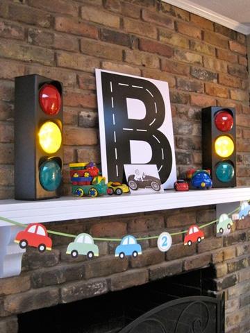 decoracion de cumpleaños sencilla para niño