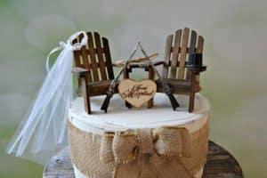 Muestra de una distinguida decoracion matrimonio campestre