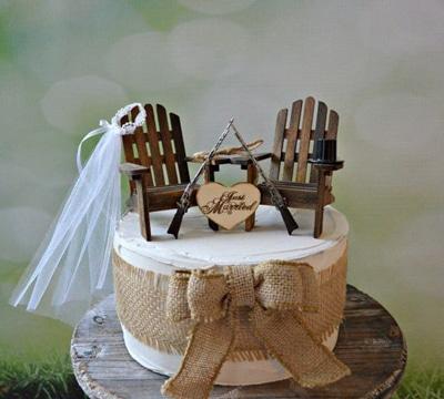 decoracion matrimonio campestre torta