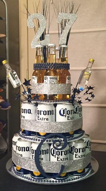 decoraciones para hombres de cumpleaños de cerveza