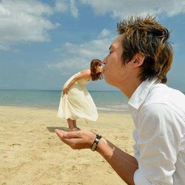 fotos divertidas de parejas playa