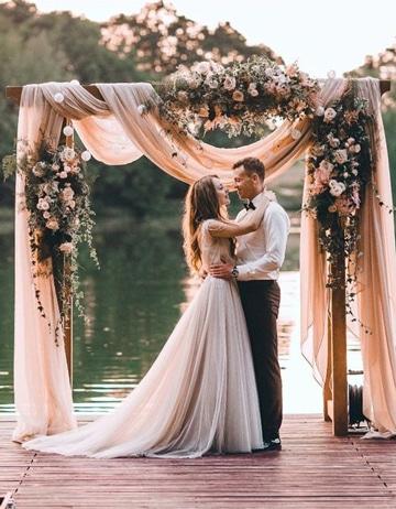 ideas photocall boda romantico