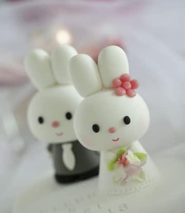 recuerdos de boda hechos a mano conejitos