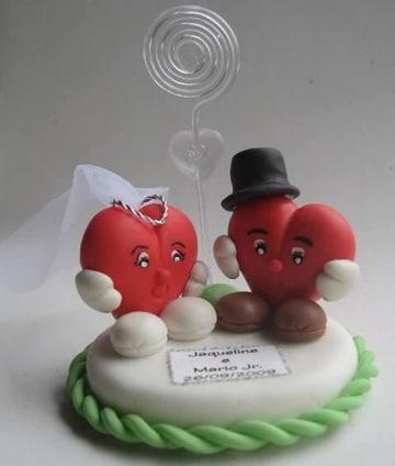 recuerdos de boda hechos a mano corazones