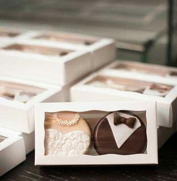 recuerdos para boda civil dulces