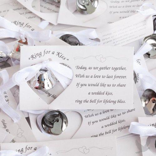 recuerdos para boda elegantes campana