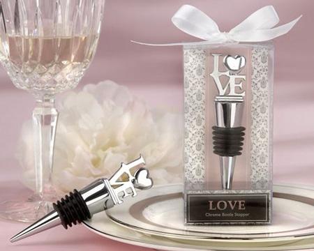 recuerdos para boda elegantes tapon botella