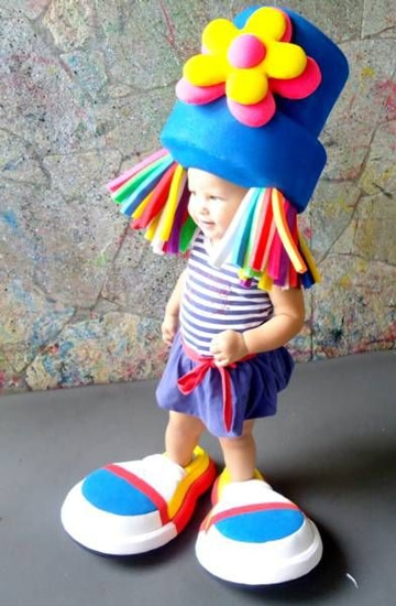sombreros de goma espuma infantiles