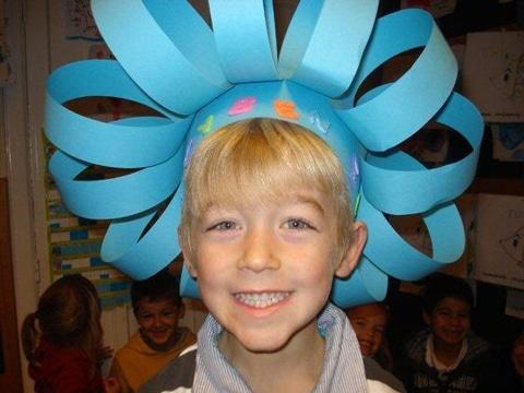 sombreros locos faciles de hacer con cartulina
