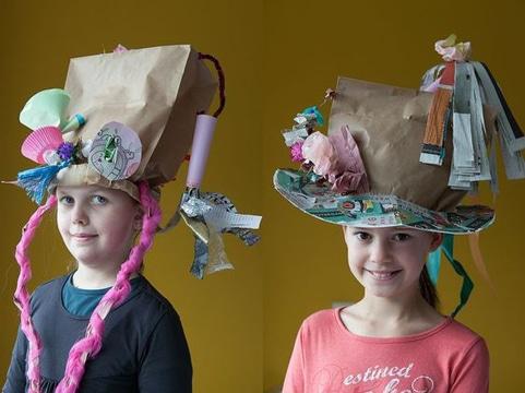 afa3abb621e1d Ocurrentes y divertidos sombreros locos faciles de hacer