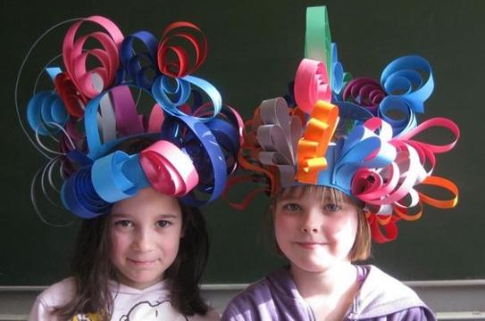 ocurrentes y divertidos sombreros locos faciles de hacer