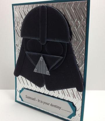 tarjetas de cumpleaños star wars ideas
