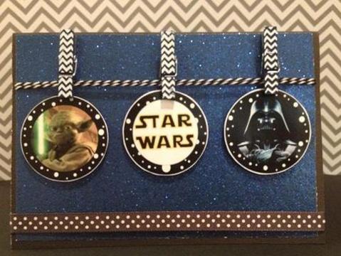 tarjetas de cumpleaños star wars para niños