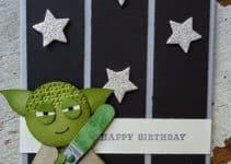 Originales y divertidas tarjetas de cumpleaños star wars