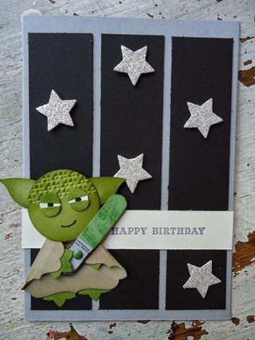 tarjetas de cumpleaños star wars yoda