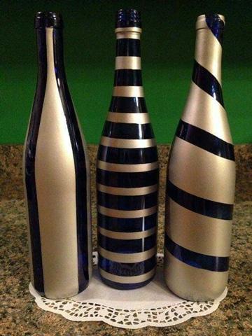 Reciclaje y dise os de adornos con botellas de vidrio for Ideas para decorar botellas