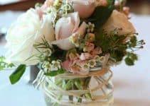 Bonitos y originales adornos de mesa para boda