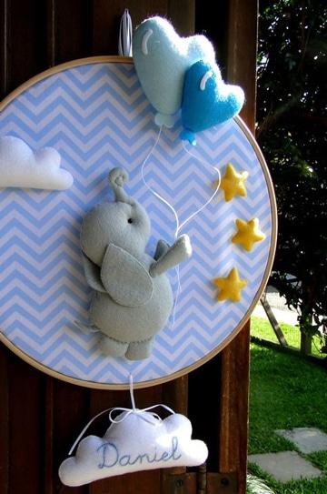 Hermosos y unicos adornos para cuarto de bebe centros de for Cuarto de bebe varon
