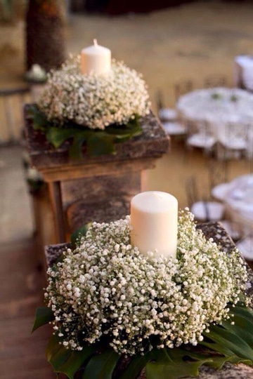 arreglos florales para primera comunion con velon