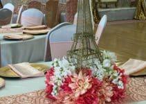 Asombrosos arreglos florales para quinceañeras