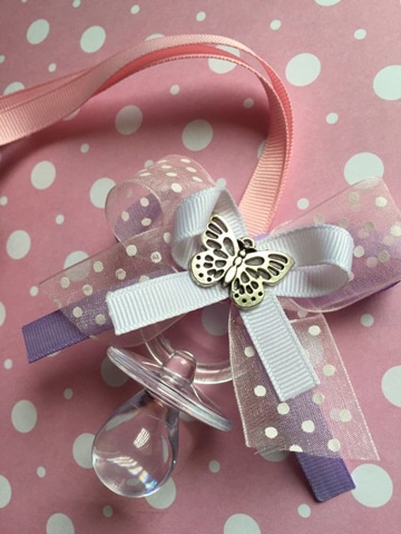 Ideas Para Baby Shower De Nina.Decoracion Original De Chupones Para Baby Shower