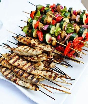 Saludables y unicas comidas para bodas sencillas centros for Comidas sencillas