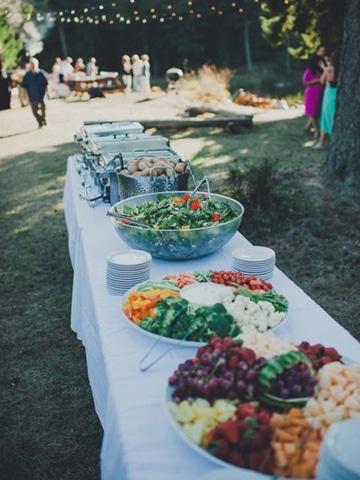 comidas para bodas sencillas y saludables