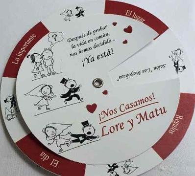 como hacer tarjetas de boda creativa