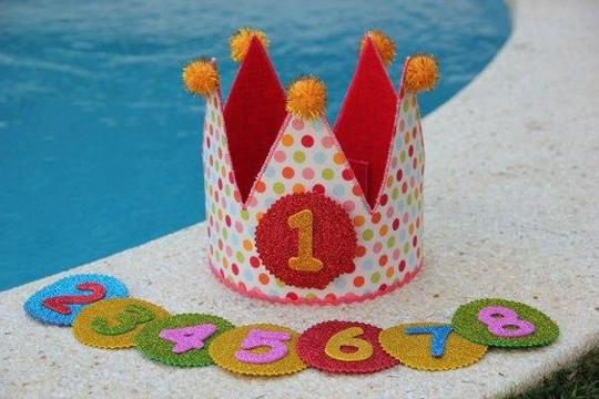 coronas de rey para niños de cumpleaños