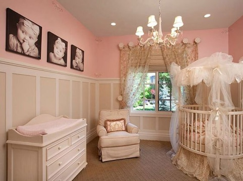 cuadros para fotos de bebes en habitacion