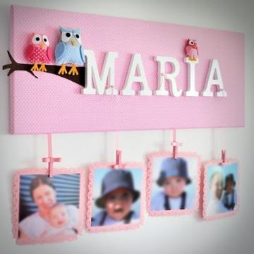 cuadros para fotos de bebes personalizados