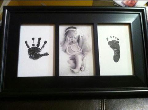 cuadros para fotos de bebes recien nacidos