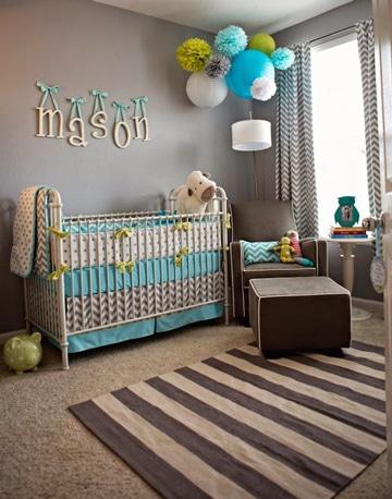 Una adecuada decoracion para cuartos de bebes recien nacidos for Decoracion pared bebe nino