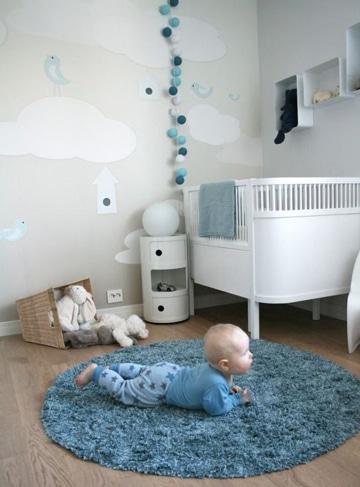 Una adecuada decoracion para cuartos de bebes recien nacidos