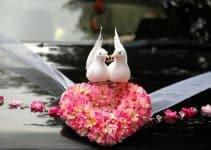 Hermosos arreglos como decoracion de carros para boda