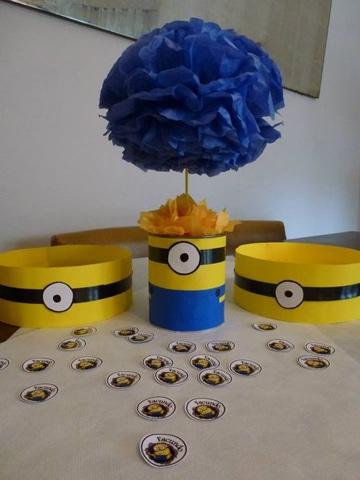decoracion minions para fiestas infantiles faciles