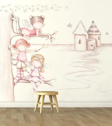 dibujos para decorar cuartos de niñas