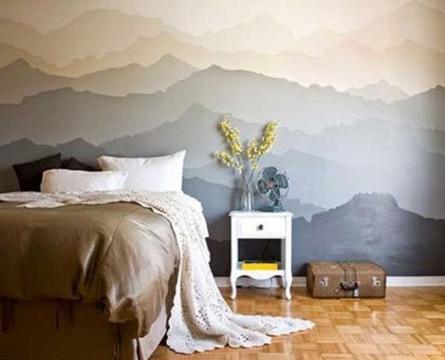 dibujos para decorar cuartos de paisaje