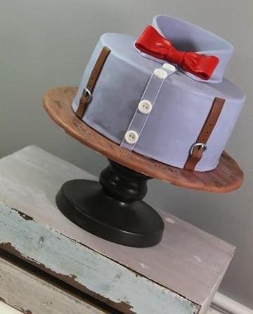 diseños de tortas para hombres camisa