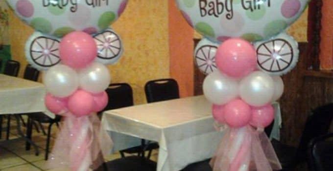 Baby Shower Adornos Para Nia Decoracion Para Baby Shower Para Nia