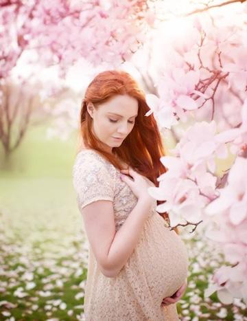 fotos bonitas de embarazadas jovenes