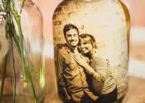 Reciclaje de frascos de vidrio decorados para el hogar