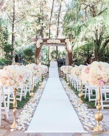 imagenes de arreglos para boda aire libre