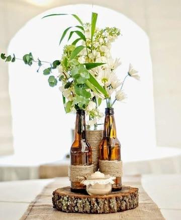 imagenes de arreglos para boda campestre