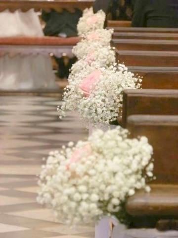 imagenes de arreglos para boda en iglesia