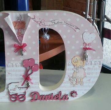 imagenes de letras decoradas para niñas