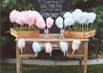 Fascinantes ideas para una mesa de dulces estilo vintage